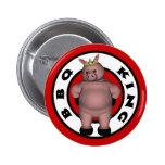 BBQ King Button