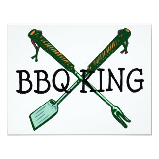 BBQ King Card