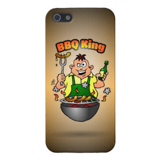 BBQ King Cover For iPhone SE/5/5s