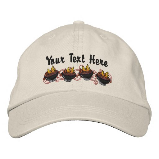 BBQ King - Customize Embroidered Baseball Hat
