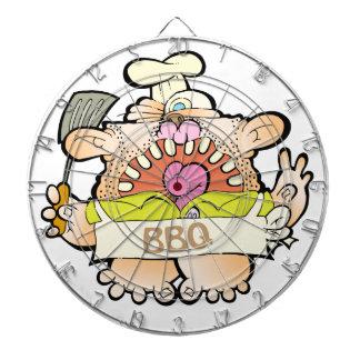 BBQ King Dartboard