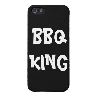 BBQ King Funny  Cover For iPhone SE/5/5s