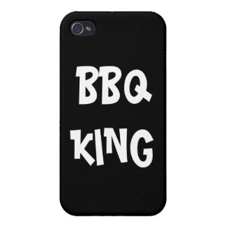 BBQ King Funny  iPhone 4 Case