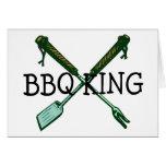 BBQ King Greeting Cards