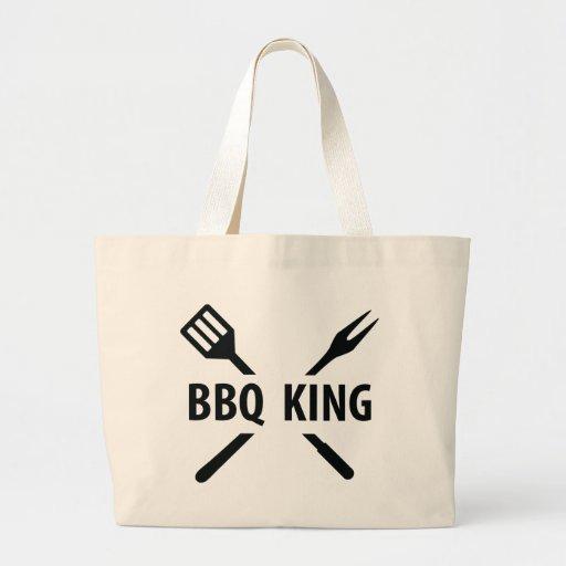 BBQ King icon Canvas Bag