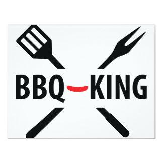 BBQ-King icon Invitations