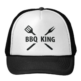 BBQ King icon Trucker Hat