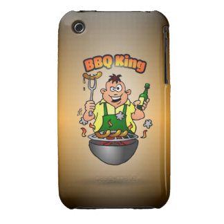 BBQ King iPhone 3 Cover