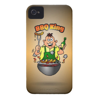 BBQ King iPhone 4 Cases