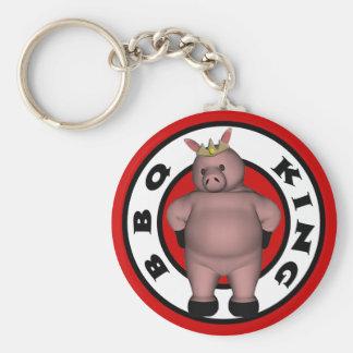 BBQ King Key Chain