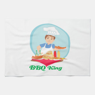 BBQ king Kitchen Towel