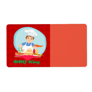 BBQ king Label