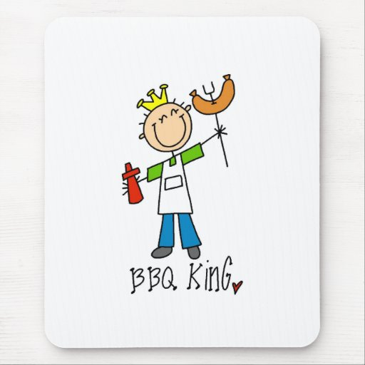 BBQ King Mouse Pad