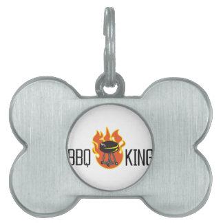 BBQ KING PET TAG