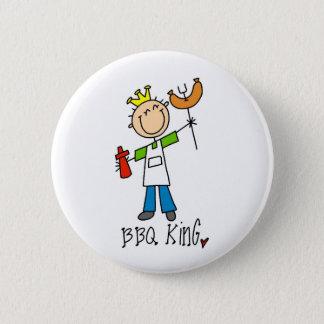 BBQ King Pinback Button