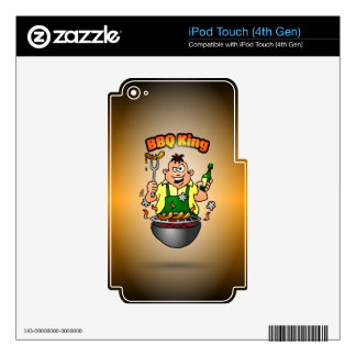 BBQ King Skins For iPod Touch 4G