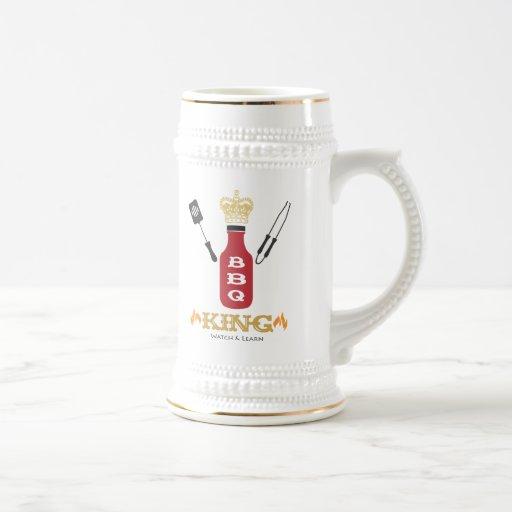 BBQ King Stein Coffee Mugs