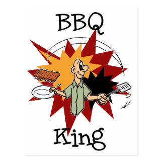 BBQ King T-shirts and Gifts Postcard