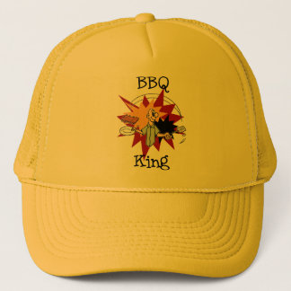 BBQ King T-shirts and Gifts Trucker Hat