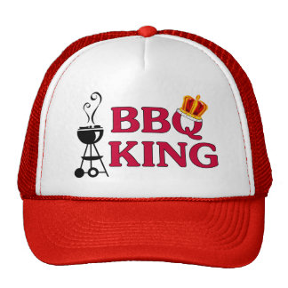 BBQ King Trucker Hat