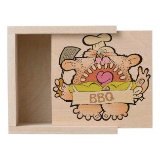BBQ King Wood Box
