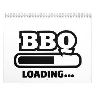 BBQ loading bar Calendar