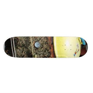 Bbq Logs Lids Skate Board