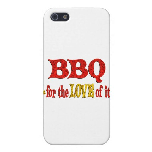 BBQ Love Cases For iPhone 5