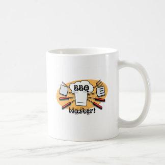 BBQ Master Classic White Coffee Mug