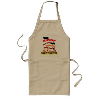 BBQ Master Cooker Braggin' Rights Long Apron
