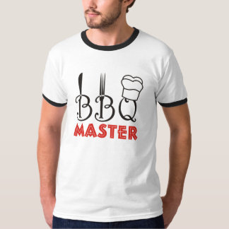 Bbq Master Father's Day T-Shirts