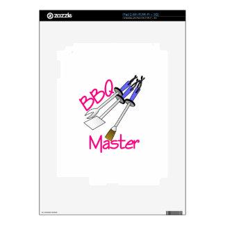 BBQ Master iPad 2 Decal