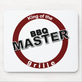 BBQ Master King of the Grille Mouse Pad