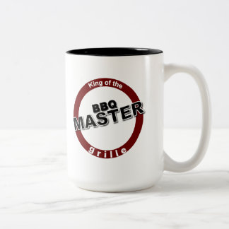 BBQ Master King of the Grille Coffee Mugs