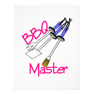 BBQ Master Letterhead