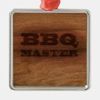 BBQ Master Metal Ornament