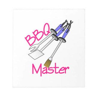 BBQ Master Notepad