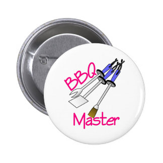 BBQ Master Pinback Button