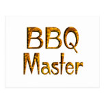 BBQ Master Postcard