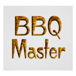 BBQ Master Poster