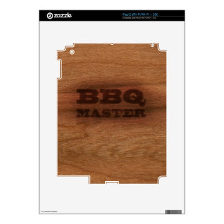 BBQ Master Decals For The iPad 2
