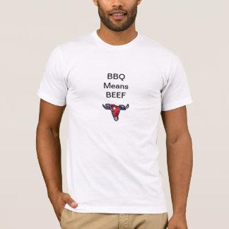 BBQ Means Beef Bull Head Shirt