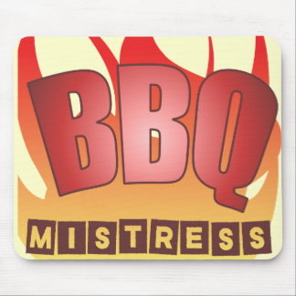 BBQ Mistress Mouse Pad