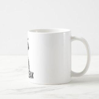 Bbq-monstruo con los cubiertos taza de café