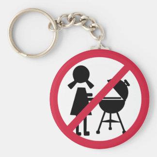 BBQ - No Women Key Chains