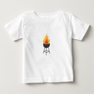 BBQ on Fire Baby T-Shirt