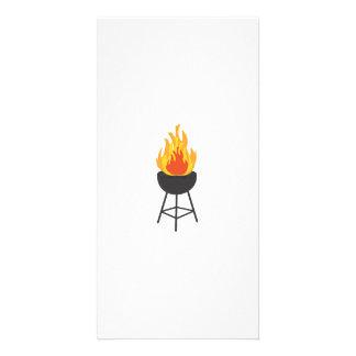 BBQ on Fire Card