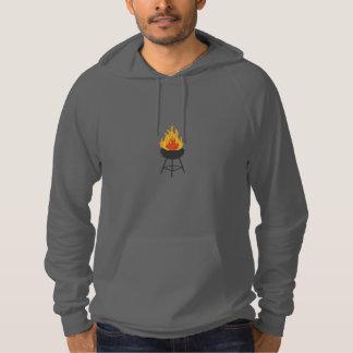 BBQ on Fire Hoodie