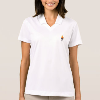 BBQ on Fire Polo Shirt