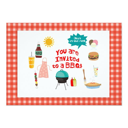 BBQ/Outdoor Party Join in the fun! Card